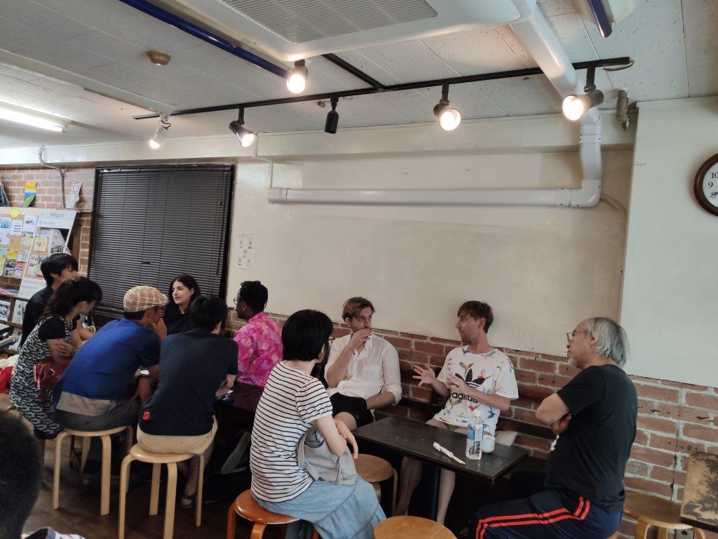 Mickey House Language Cafe à Takadanobaba in Japan